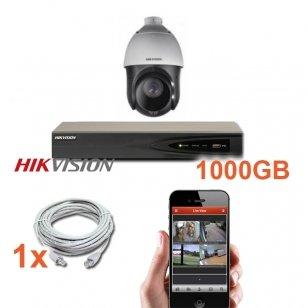 1 PTZ IP lauko/vidaus kameros stebėjimo sistema 2 Mp, SK-IP17