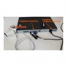 2 IP lauko/vidaus kamerų stebėjimo sistema 2 Mp, SK-IP37