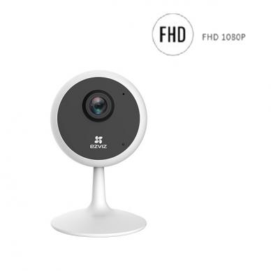 2 megapikselių IP WiFi kamera EZVIZ CS-C1C-D0, WiFi, MicroSD, IR naktinis matymas, FULL HD raiška