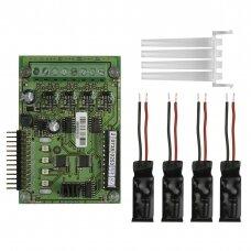4 zonų išplėtimo modulis MAG8plus valdymo pultui TELETEK ME4