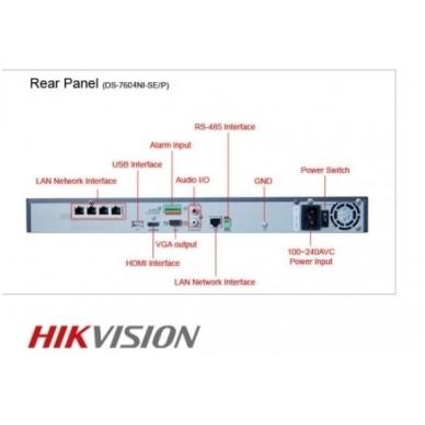 4 IP lauko/vidaus kamerų stebėjimo sistema 4 Mp, SK-IP35 6