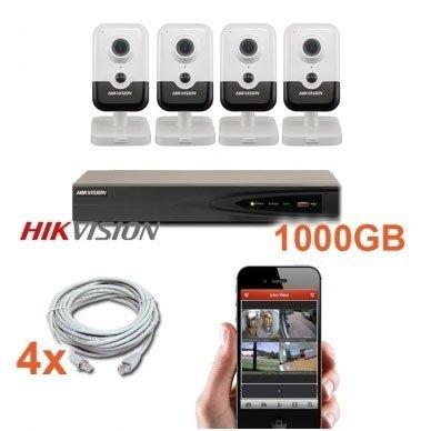 4 IP vidaus kamerų stebėjimo sistema 4 Mp, SK-IP30