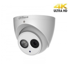 4K IP kamera 8MP 15fps su IR iki 50m., H.265, IVS, 4mm 87°, IP67