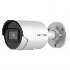 8 Megapikselių lauko/vidaus cilindrinė IP kamera HIKVISION DS-2CD2086G2-IU F4 IR iki 30 metrų, microSD, 4k raiška