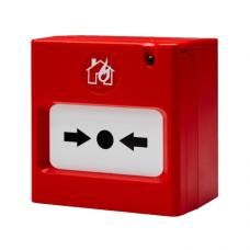 Adresinis rankinis pavojaus mygtukas su izoliatoriumi SensoIRIS MCP 150