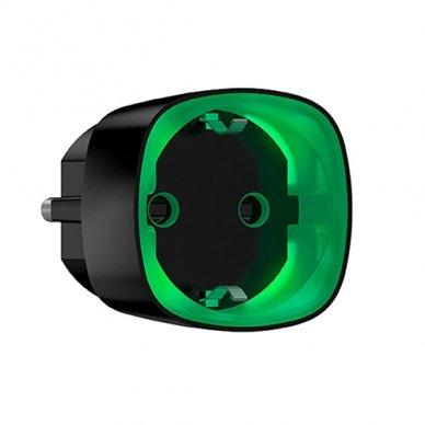 Ajax Socket išmanusis kištukinis lizdas su energijos taupymu (juodas)