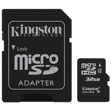 Atminties kortelė - Kingston Micro SD 32 GB Class 10, SDC10/32GB