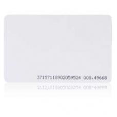 Atstuminė kortelė UHF + EM 125kHz RFID