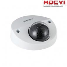 Automobilinė HD-CVI kamera 2MP su IR iki 20m, 2.8mm.115.6°, integruotas mikrofonas, IP67, IK10
