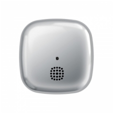 Autonominis dūmų detektorius Kupu, chromuotas korpusas