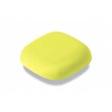 Autonominis dūmų detektorius Kupu, geltonas, 10m. baterija