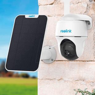 Bevielė 4G LTE, 2 megapikselių valdoma kamera Reolink Go PT su saulės energijos kolektoriumi