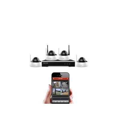 Belaidė 4 IP lauko/vidaus kamerų stebėjimo sistema,NK44W1H-1T(WD
