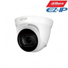 """EZ-IP kamera kupolinė 4MP, IR pašvietimas iki 40m, 1/3"""" 2.8-12mm, 3-DNR, IP67, H.265, SD"""