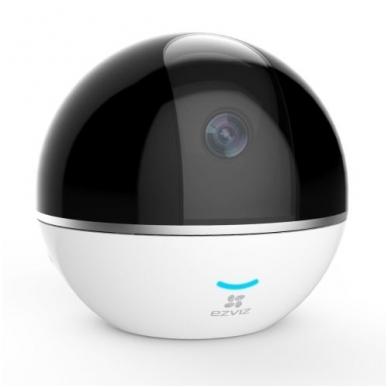 2 Megapikselių Ezviz valdoma kamera EZVIZ CV-248, WiFi, MicorSD, garsiakalbis ir mikrofonas, naktinis matymas