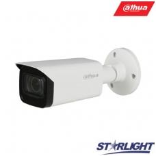 """HD-CVI cilindrinė kam. STARLIGHT 8MP, LXIR pašvietimas iki 80m., 1/1.8"""" 3.6mm, IP67, su mikrofonu"""