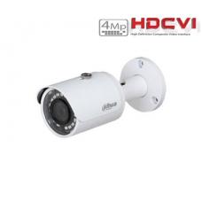 HD-CVI cilindrinė kamera 4MP su IR iki 30m. 3.6mm. 78°, IP67, WDR, GEN III PRO serija