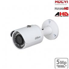 "HD-CVI cilindrinė kamera STARLIGHT 5MP su IR pašvietimu iki 30m.,1/2.7"" 2.8mm 98°, IP67"