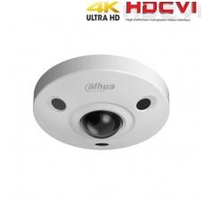 HD-CVI kamera 4K Fish-Eye 8MP 2.5mm 360°, IR iki 15m, Dewarp, WDR, IK10, IP67
