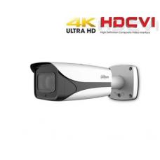 HD-CVI kamera cilindrinė 4K 8MP 3840×2160 STARLIGHT su IR iki 100m. 3.7-11mm. WDR, IP67