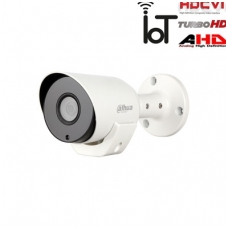 HD-CVI, TVI, AHD, CVBS kamera cilindrinė 2MP su IR iki 20m. 1/2.