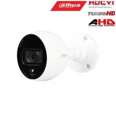 HD-CVI, TVI, AHD, CVBS kamera kupolinė 2MP su IR iki 20m, integr