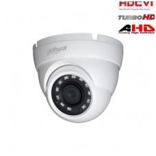 HD-CVI, TVI, AHD, CVBS kamera kupolinė 2MP su IR iki 30m, 2.8mm. 106°, IP67