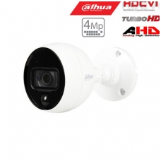 HD-CVI, TVI, AHD, CVBS kamera kupolinė 4MP su IR iki 20m, integruotas PIR daviklis, 2.8mm. 109.4°,