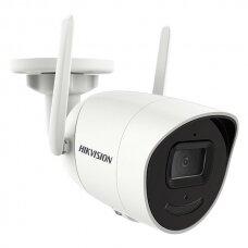 4 Megapikselių Hikvision WiFi cilindrinė kamera DS-2CV2041G2-IDW F2.8, microSD, mikrofonas, IR iki 30 metrų