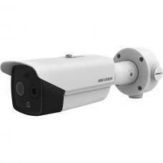 4 Megapikselių Hikvision termovizorinė kamera DS-2TD2617B-6PA (B), IR iki 40 metrų, 2K raiška, micro SD