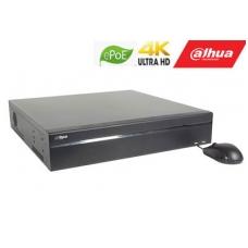 IP įrašymo įreng. 16kam. iki 12Mp, 8HDD, 16 PoE sąsajų 1-8 ePoE iki 800m, 320Mbps, IVS, H.265,