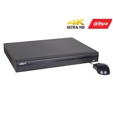 IP įrašymo įrenginys 16kam. 4K 8MP, 2HDD, IVS, H.265, PoE switch'as - 16 PoE sąsajų, 200Mbps