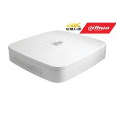 IP įrašymo įrenginys 8 kam., 4K 8MP, 1HDD, 80Mbps, H.265/H.264, IVS