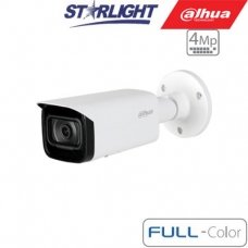 "IP kam.cilindr. 4MP FULL-COLOR STARLIGHT AI,1/1.8"" 3.6mm.93° F1.0, 25fps, WDR, IVS, IP67, ePoE"