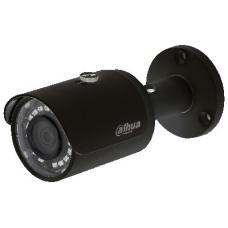 """IP kamera cilindr. 2MP, IR pašvietimas iki 30m, 1/2.7"""" 2.8mm 104°,DWDR,3-DNR, IP67, H.265, IVS, juod"""