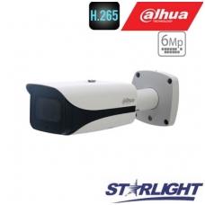 """IP kamera cilindr.6MP STARLIGHT 20fps, IR 100m.,1/2.9"""" 7mm~35mm."""
