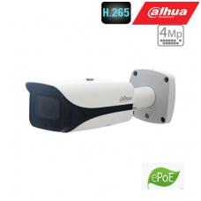 "IP kamera cilindrinė 2K 4MP 25 fps su IR iki 50m. 1/3"" 2.7~13.5mm. motor. obj. WDR, H.265, IP67,  eP"