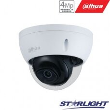 IP kamera HDBW2431E-S-S2 4MP. IR iki 30m. 2.8mm 102°. PoE, IP67, WDR, IVS, IK10.