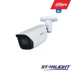 IP kamera HFW3841E-AS 8MP, IR pašvietimas iki 30m, 2.8mm 108°, SMD, IVS, AI