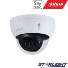 IP kamera kupolinė 5MP su IR iki 30m, 2.8mm 103°, WDR120dB, 3DNR, IP67, IK10, PoE , H.265