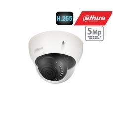 IP kamera kupolinė 5MP su (SMD) IR iki 30m, 2.8mm 96°, WDR120dB, 3DNR, IP67, IK10, PoE , H.265