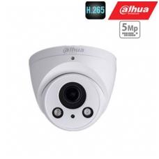 IP kamera kupolinnė 5MP 20fps, LXIR iki 50m, 2.7~13.5mm. automatinis obj.,WDR,3DNR, PoE, IP67, H.265