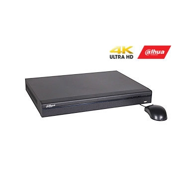 IP įrašymo įrenginys 8kam. 4K 8MP, 2HDD, IVS, H.265, 8 PoE sasajos, 200Mbps