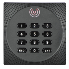 Išorinis RFID skaitytuvas ZKTeco KR612E su klaviatūra