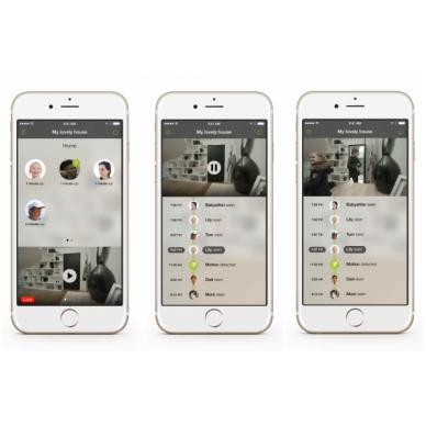 Išmanioji Netatmo Welcome kamera su veidų atpažinimo funkcija 3
