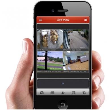 Kaip stebėti Hikvision kameras išmaniuoju telefonu (konfigūracija)