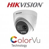 "Hikvision kameros su ""Color VU"" technologija"