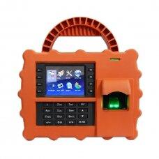 Laiko apskaitos terminalas ZKTeco S922 - apelsininės spalvos