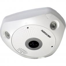 Lauko/Vidaus 12 MP Panoraminė Fisheye Kamera DS-2CD63C5G0E-I(V)(S) IR iki 15m, PoE