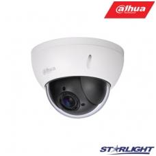Mini IP valdoma kamera 2MP STARLIGHT (1920×1080) 1~25fps, 4x zoom, IP 66, IK10, IVS